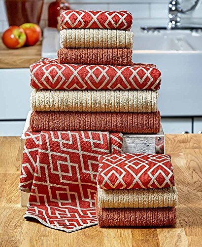 10-Pc. Kitchen Towel Set Spice by Generic