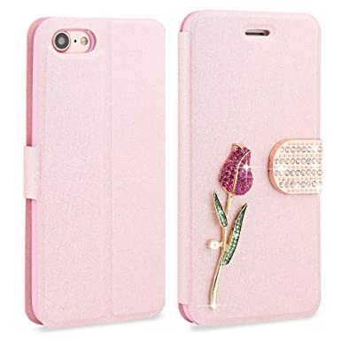 Llz Coque For Iphone 5 Iphone 5s Fashion Case Silk Pattern Bling