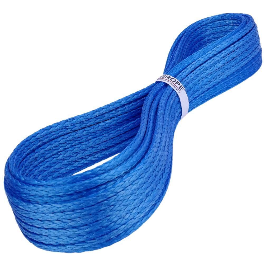 Kanirope/® Dyneema Seil PRO 10mm 20m Blau 12-fach geflochten SK78 verstreckt beschichtet