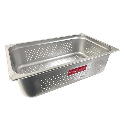Fagor gnpk11150 1/1 gastronorm de recipiente perforado 18,8 ...