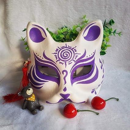 Mascara de baile Máscara de zorro de cara de gato clásica ...