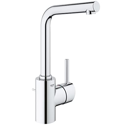 GROHE 23737001 Concetto Single Hole Single Handle Bathroom Faucet In  Starlight Chrome
