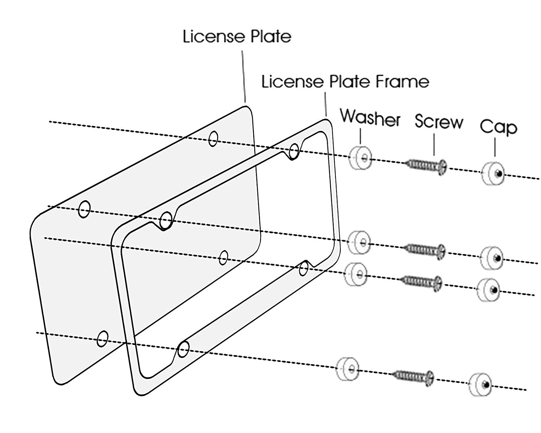 License Plate Frame BMW BMW License Plate Frame Metal License Plate Frame License Plate Frame Chrome BMW Accessories BMW Plate Frame Chrome License Plate Frame BMW M License Plate Frame