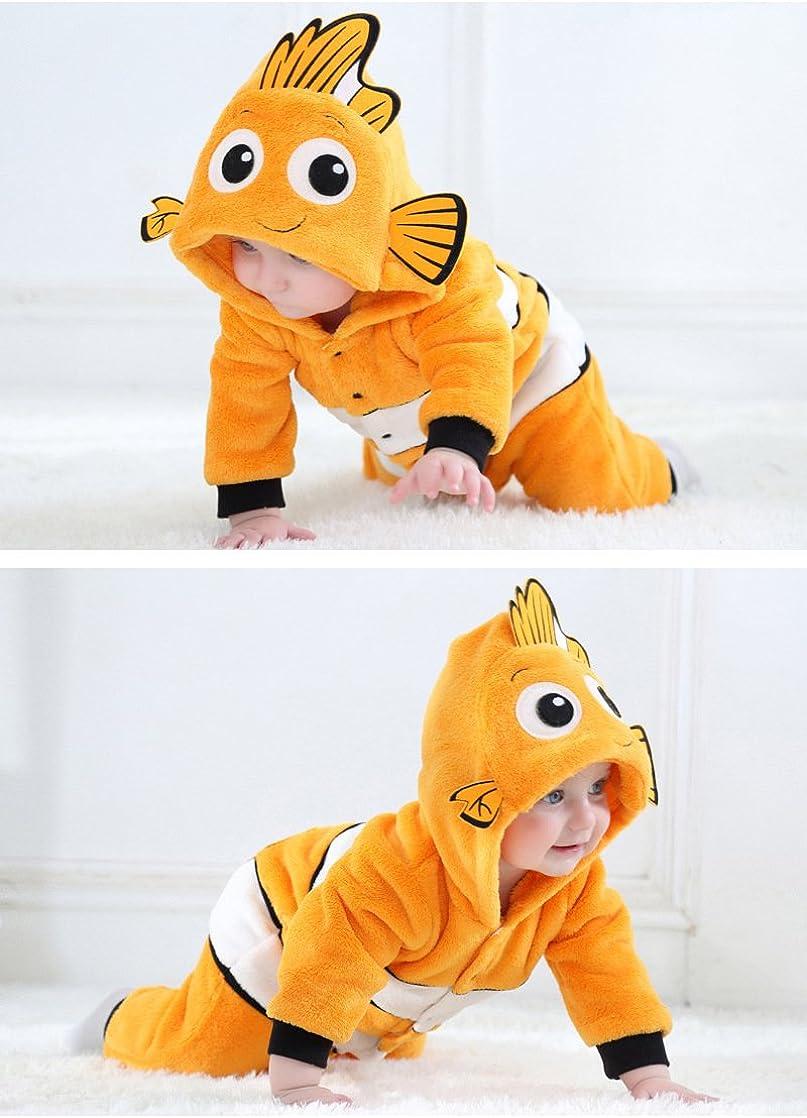 Tonwhar Baby Onesie Costume Animal Romper