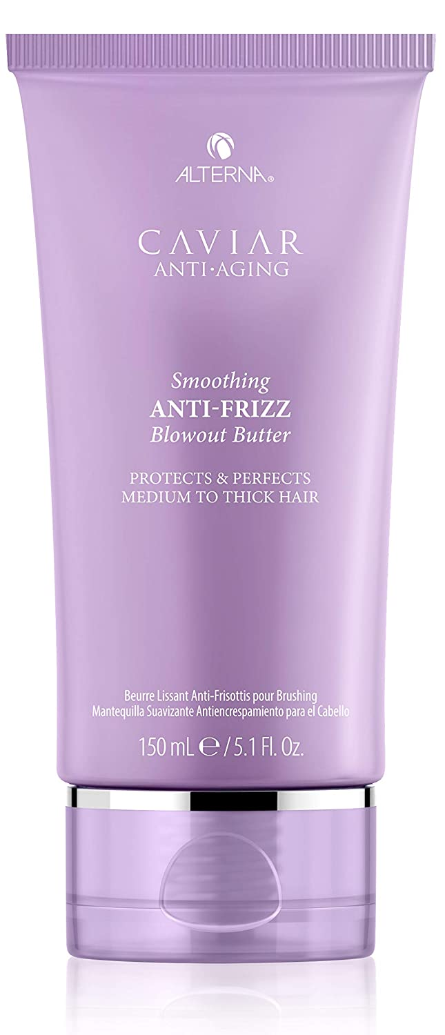 Alterna Caviar Anti-Aging Smoothing Anti-Frizz Blowout Butter, 5.1 Fl Oz