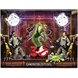 "Ghostbusters 30th Anniversary 6"" Egon Spengler and Peter Venkman Action Figures with Proton Pack"