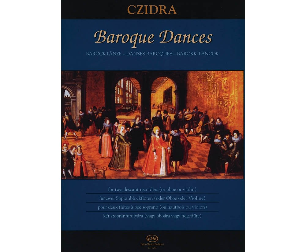 editio-musica-budapest-baroque-dances-for-two-descant-recorders-or-two-oboes-or-two-violins-emb-series-by-various