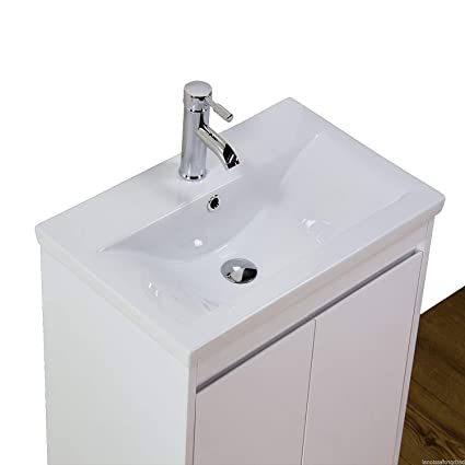 best loved e108b 167c0 KLARA Vanity Unit Cabinet Basin Sink Bathroom Ceramic White ...