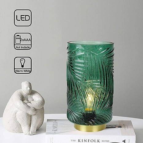 Amazon.com: MJ PREMIER - Lámpara de mesita de noche con ...