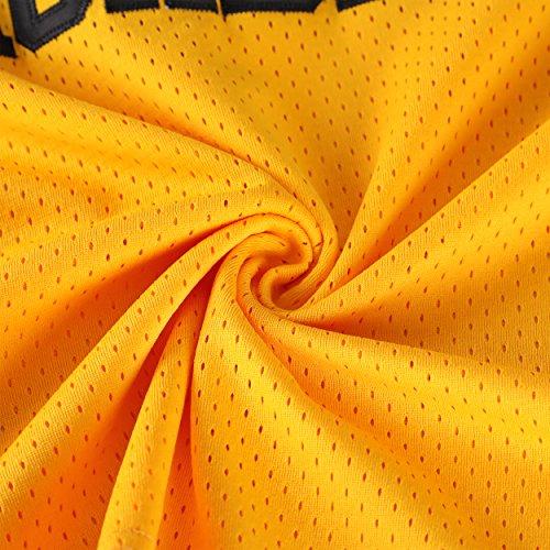 MOLPE Smith  14 Bel Air Academy Yellow Basketball Jersey S-XXXL ... 673d833e9