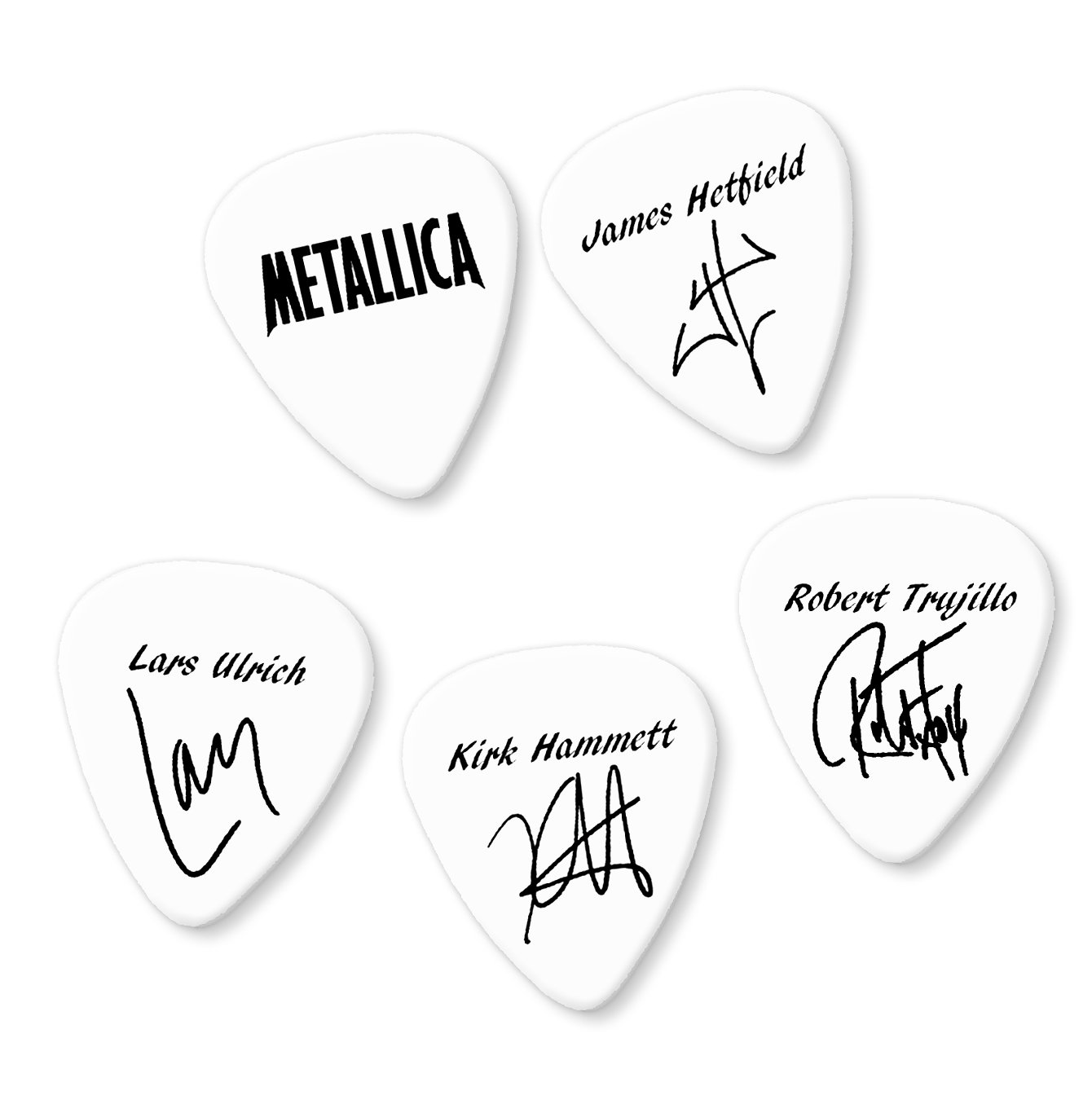 Greenday Band Signatures printed plectrum guitar picks Full Set Of 4