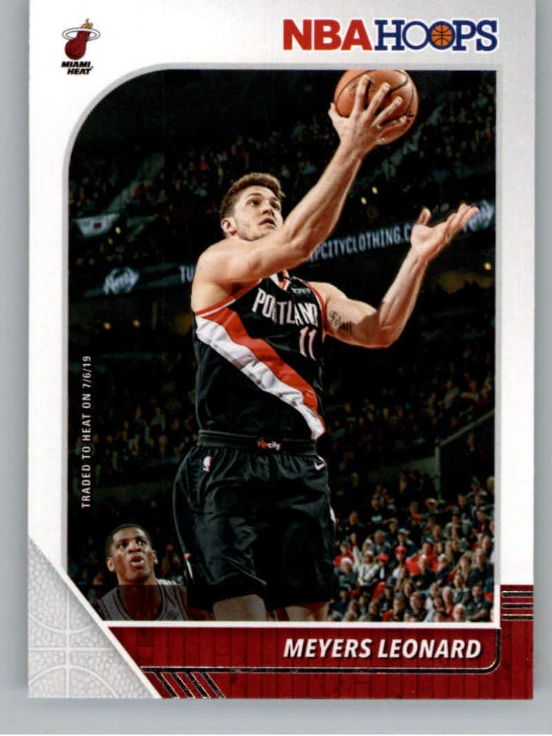 AMAZON COM 2019 20 NBA HOOPS BASKETBALL 161 MEYERS LEONARD
