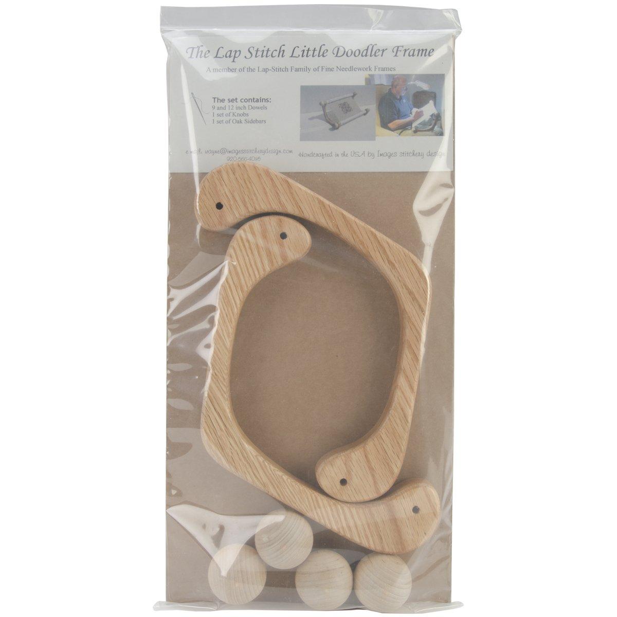 Images Stitchery Design 0042 Lap Stitch Little Doodler Frame with 2 Dowels