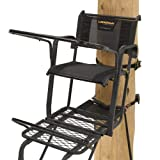 Rivers Edge RE651 Ladder Stand Lockdown Tall, Black