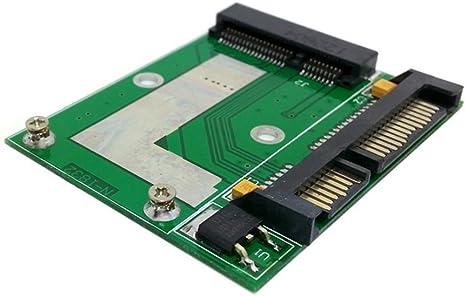 Perfil Bajo mitad Mini PCI-E SSD mSATA a de altura de 50 mm 7 mm ...