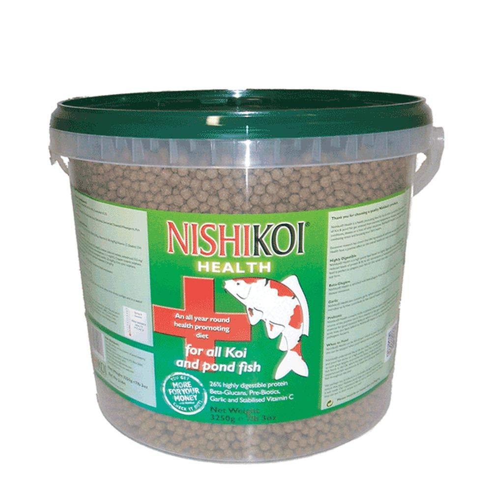 Pet's House NISHIKOI HEALTH POND FOOD 3250G MEDIUM PELLETS FISH FEED VITALITY IMMUNITY