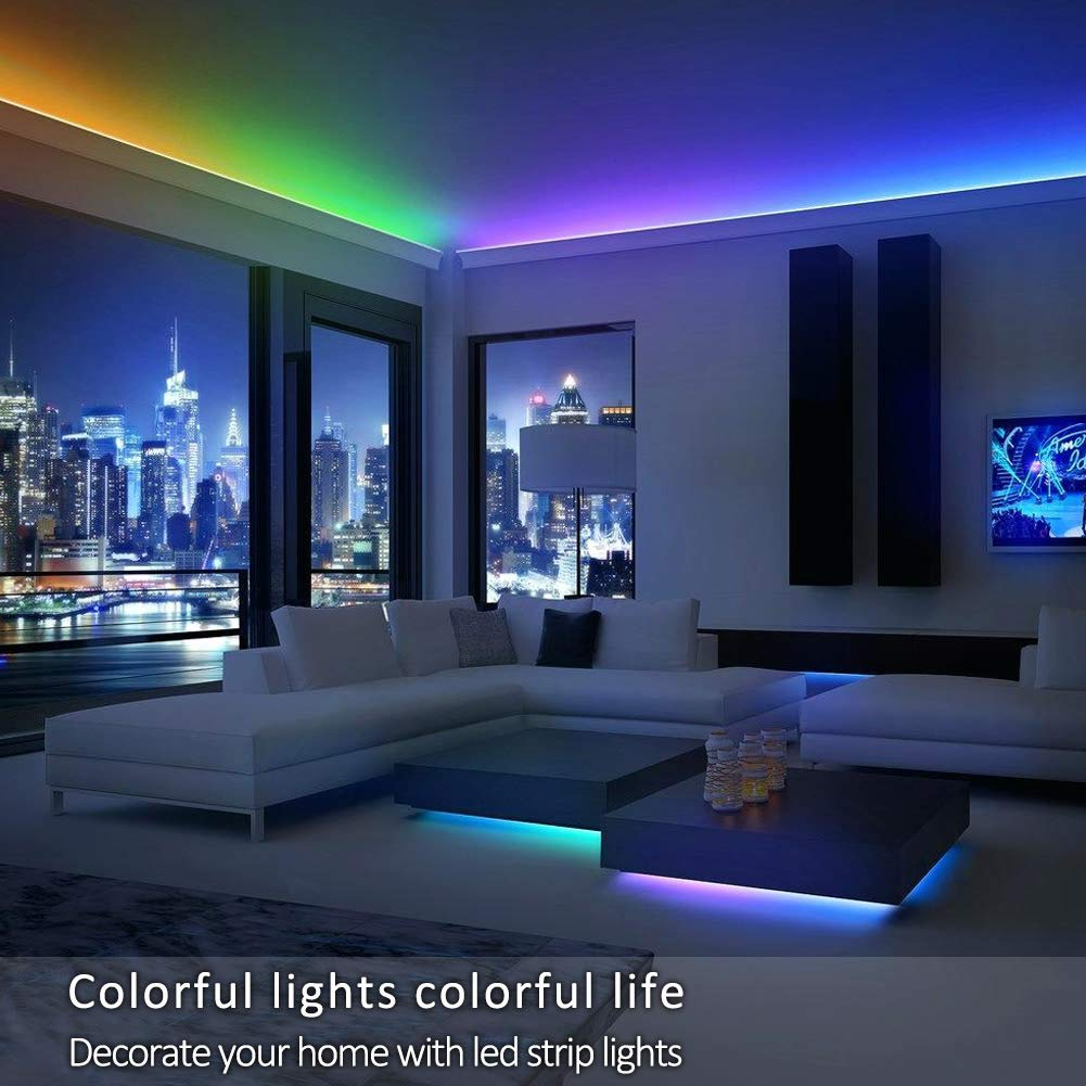 Amazing Xyop Led Strip Lights Sync To Music Bluetooth Led Light Strip Smart Phone App Controlled Strip Lights Kits Waterproof Led Strip Rope Lights Beutiful Home Inspiration Xortanetmahrainfo