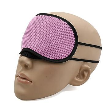 sourcingmap® El resto de la máscara de ojo de bambú del carbón de leña relaja