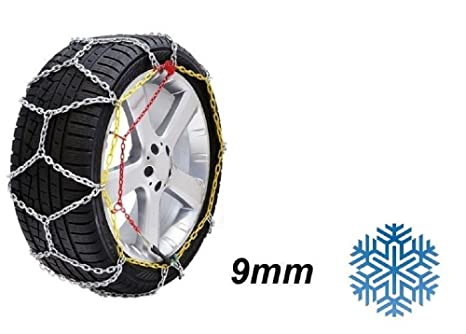 Ltd V5117 - Cadenas de nieve para ruedas (9 mm