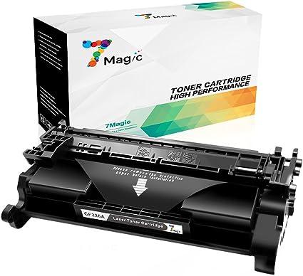 Cartucho de Tóner Compatible HP 26A CF226A de 7Magic para ...