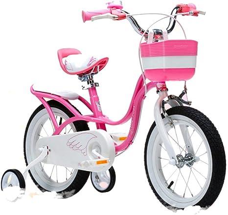 BaoKangShop Bicicletas Bicicletas para Niños 3-9 Años Niña Pequeña ...
