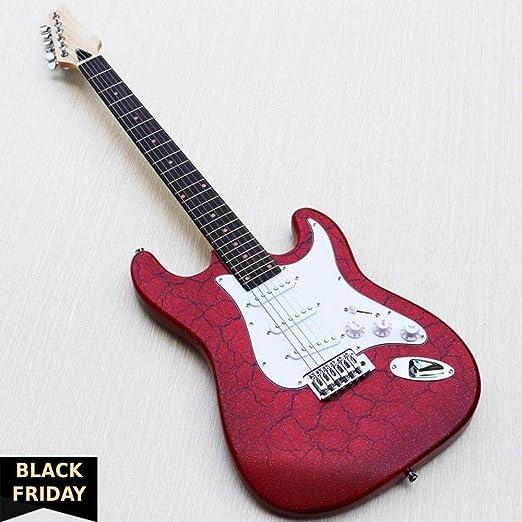 Florwesr Agrietarse Hardwares Roja De Calidad De La Guitarra ...