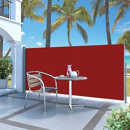 Terrasse Balcon LARS360 Store Lat/éral Retractable Polyester Paravent Ext/érieur R/étractable pour Jardin 160 x 300 cm, Gris