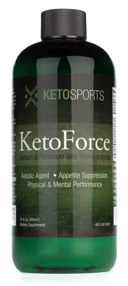 KetoSports KetoForce Dietary Supplement, 16 Fluid Ounce by KetoSports