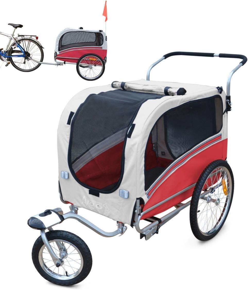Polironeshop Argo - Remolque y carrito para bicicleta para el ...