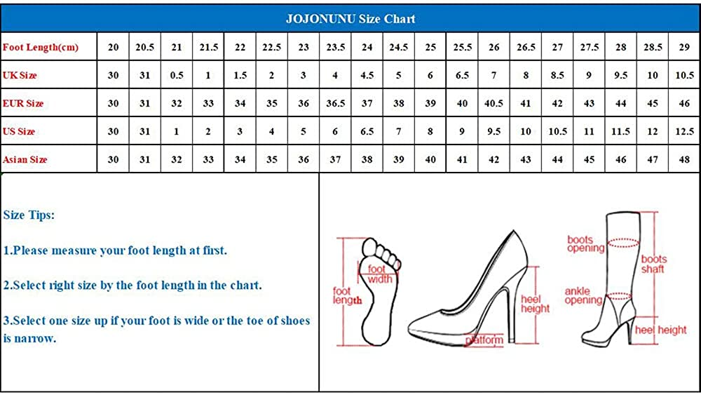 JOJONUNU Women Lace Up Martin Boots