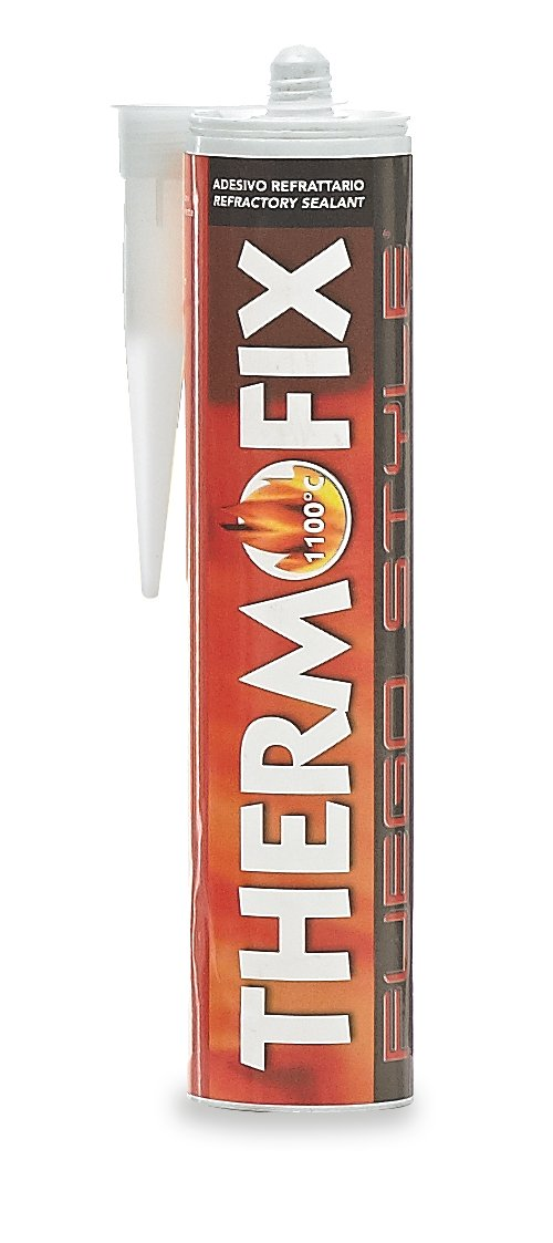 Fuego Style 8.03414E+12 Adesivo Refrattario, Beige Texpack Unipersonale