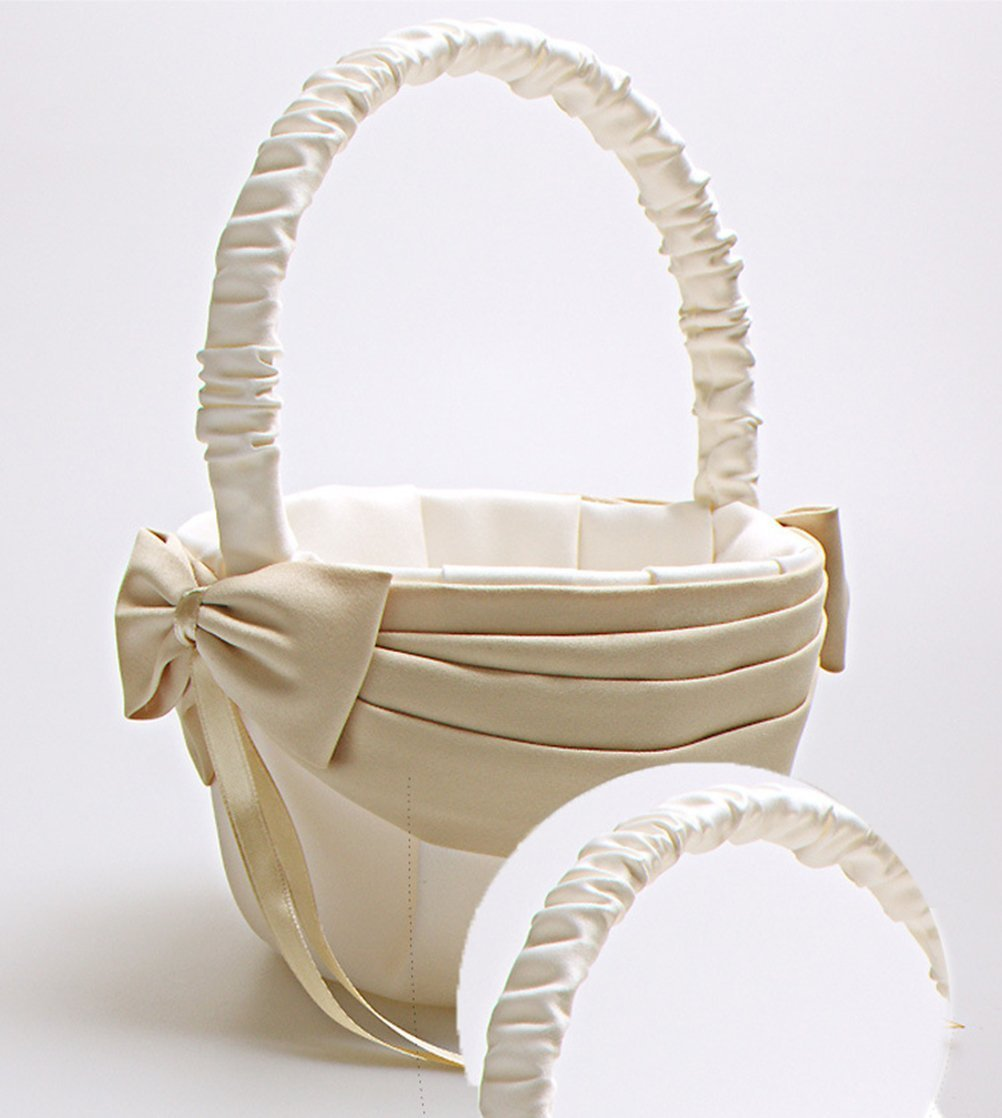 Amazon Vivivalue Flower Girl Basket Wedding Collection