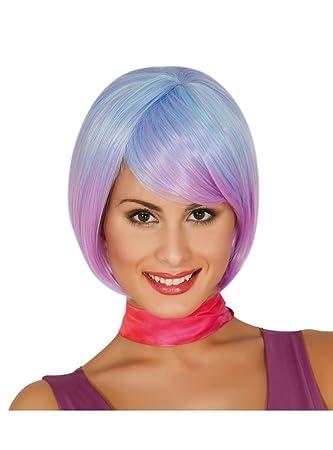 Guirca Fiestas gui4001 – Extra Larga peluca azul (Caja Contenedor)