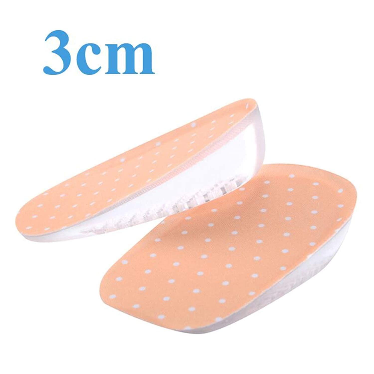 852b2f8c03c27 Amazon.com: Hulione Height Increase Half Shoes Pads for Men Women ...