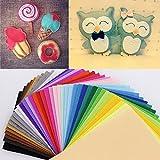 43 Colors Polyester Acrylic Nonwoven Fabric,Needlework,Diy,Needle,Sewing,Handmade, Non-Woven Cloth Felt,Fabric,Fieltro Feltro^.