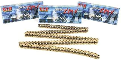 110 Links Chain Application: Offroad 525ZVM-X NATURAL X 110 Chain Length: 110 Nickel Chain Type: 525 Color: Nickel D.I.D 525 ZVM-X Super Street Series Chain
