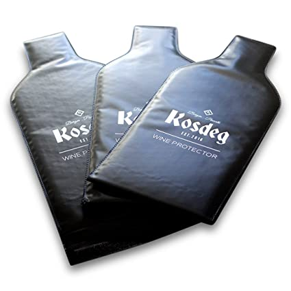 f500a1b929f9 Amazon.com | Kosdeg Reusable Wine Bottle Protector Pack Of 3 ...