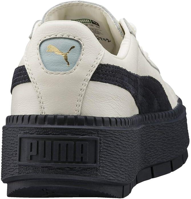 PUMA Women s Basket Platform Trace Block Vanilla Ice Night Sky Night Sky 7  B US  Amazon.ca  Shoes   Handbags a5ecad948