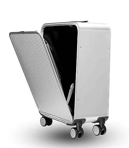 Toda la Aleación de magnesio de Aluminio luggagen Maleta de embarque Impermeable Resistente Ligera del Caso