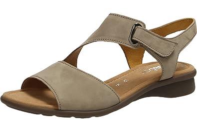 Gabor Damenschuhe 66.063.33 Damen Sandalen, Sandaletten, Mehrweite Braun  (Visone), EU 7  Amazon.de  Schuhe   Handtaschen ca7ea78f6c