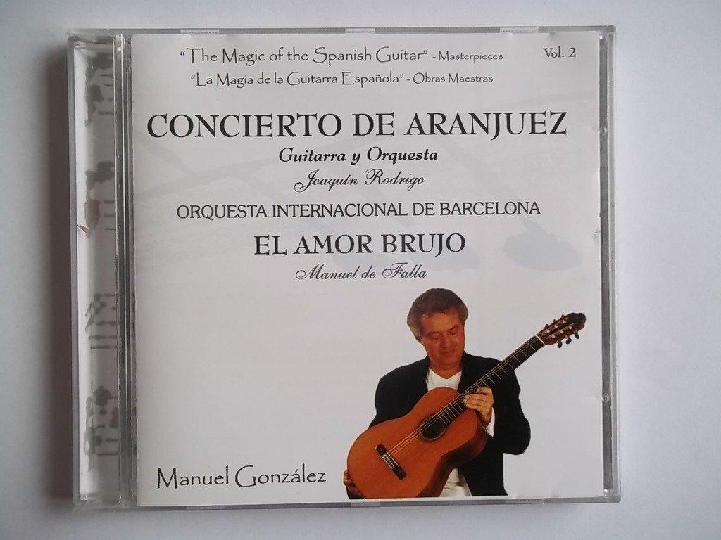 MANUEL GONZALEZ La Magia de la Guitarra Espanola CD: Manuel ...