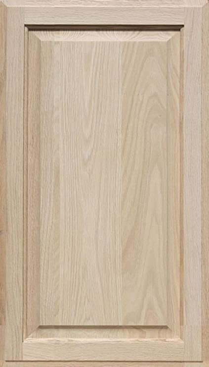 Merveilleux Unfinished Oak Cabinet Door, Square With Raised Panel By Kendor 28H X 16W