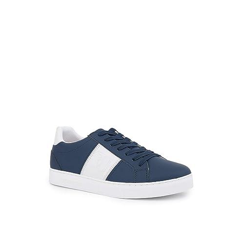 Trussardi Jeans Sneaker Uomo 77A00107 Blu  Amazon.it  Scarpe e borse 8d7d3a5e0ed