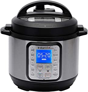 Instant Pot Duo Plus Mini 9-in-1 Electric Pressure Cooker, Sterilizer, Slow Cooker, Rice Cooker, Steamer, Sauté, Yogurt Maker, and Warmer, 3 Quart, 13 One-Touch Programs