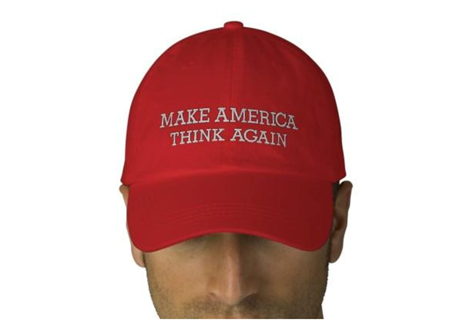 0e7bc1fa864 Make America Think Again. MAGA Parody Hats