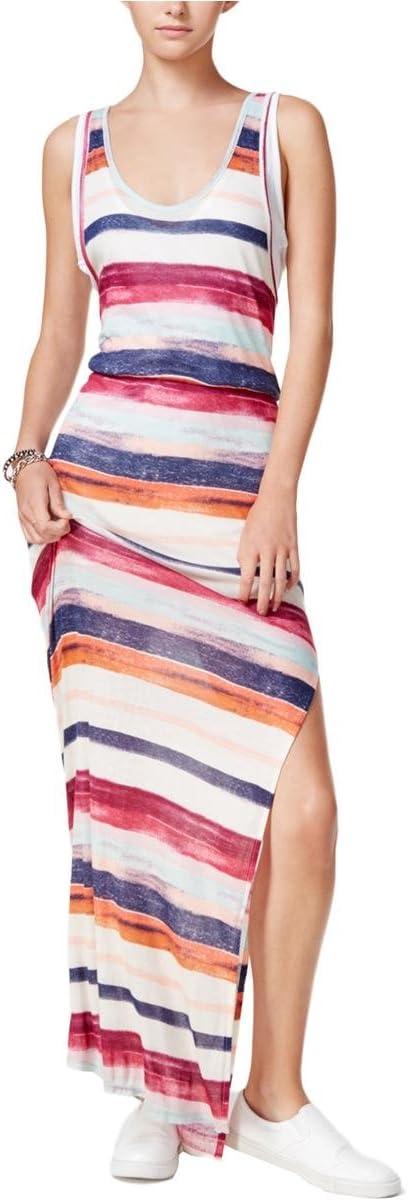 فستان نسائي طويل بطبقات مطبوعة من Chelsea Sky متعدد المقاسات XL
