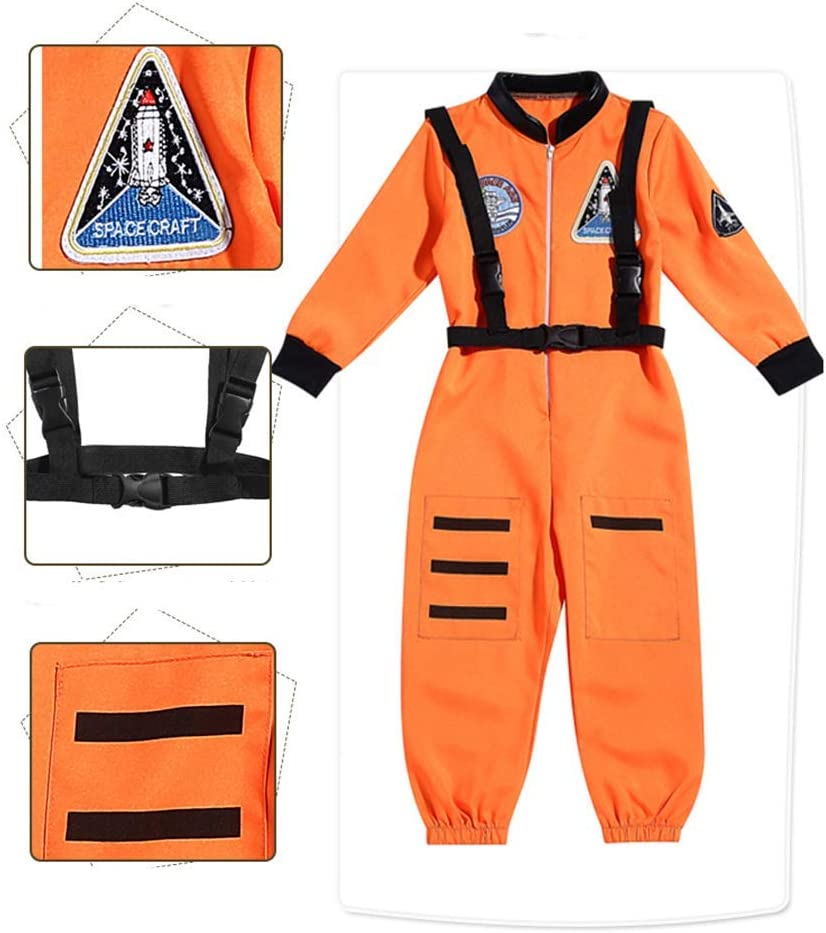 RuHan - Traje de Astronauta para niños, Traje de piloto para niños ...