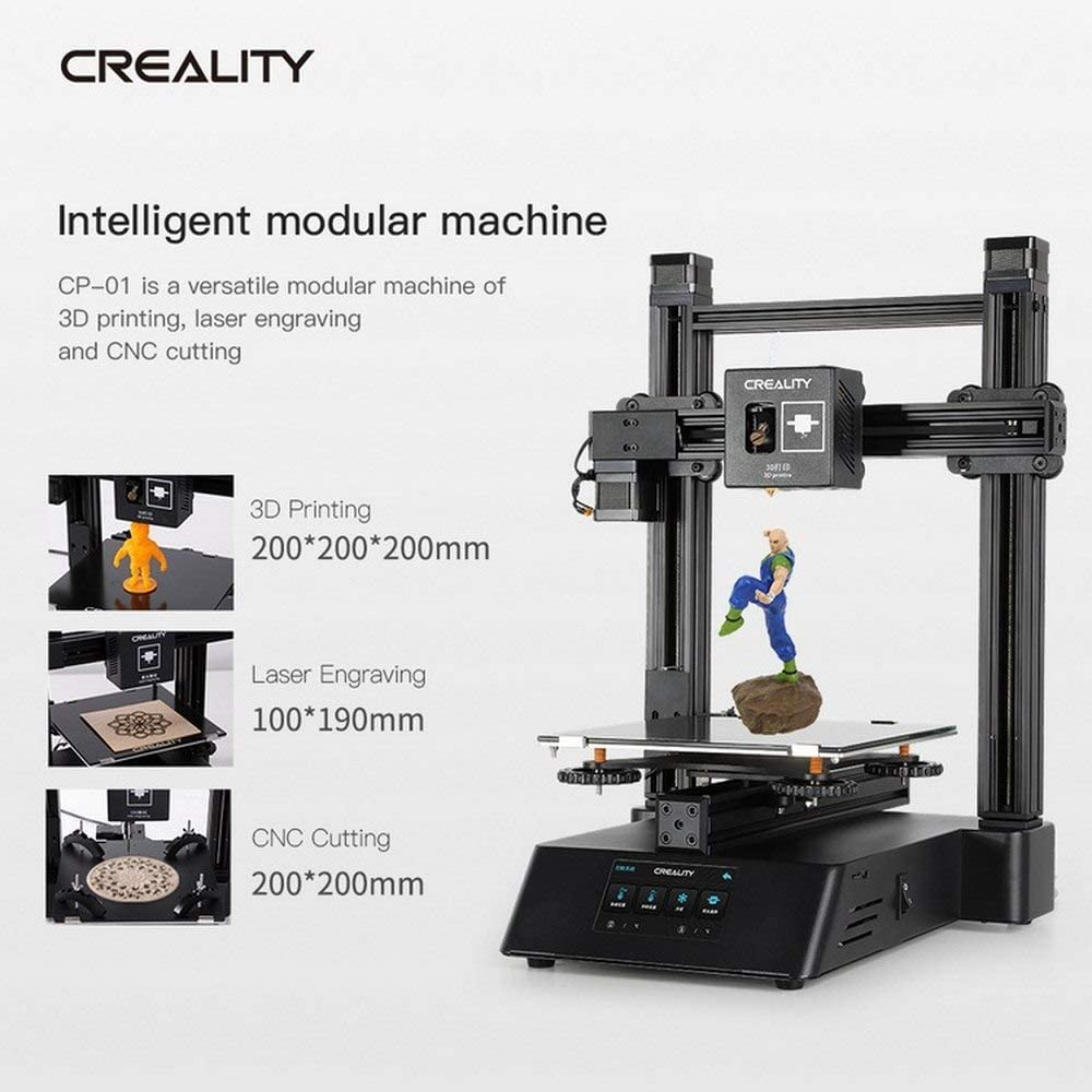 Impresora 3D CP-01 multifunción 3 en 1 con grabado láser, corte ...
