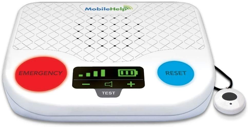 MobileHelp Classic - Remotely Activated Cellular Home Medical Alert System for Seniors, 1 Month of Extended Service Included