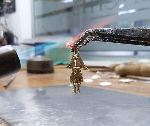 Colgante Enano de La Palma de oro.: Amazon.es: Handmade